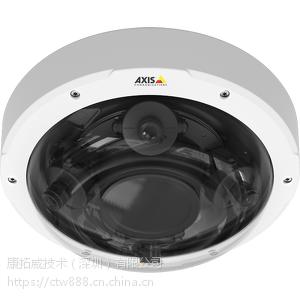 安讯士AXIS P3707-PE 网络摄像机 灵活的 360 度多传感器摄像机