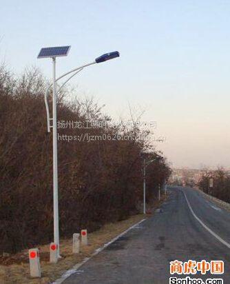 龙江照明供应贵州道真县锂电池太阳能led路灯6米40瓦