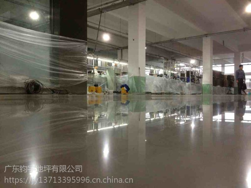 广州固化地坪公司----黄埔区厂房地面起灰(处理)施工 美丽耀眼