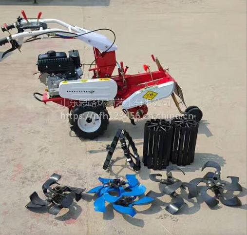 山东思路供应小型开沟机 柴油旋耕开沟机 农户用自走式田园管理机