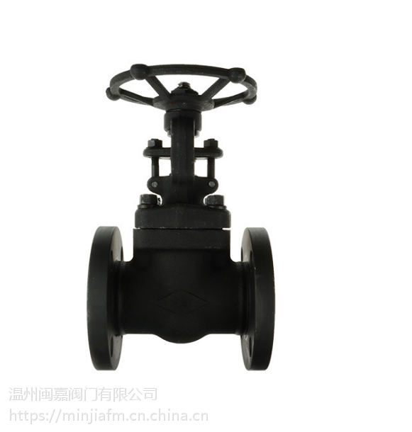 A105美标整体锻钢闸阀 Z41H耐高温高压闸阀