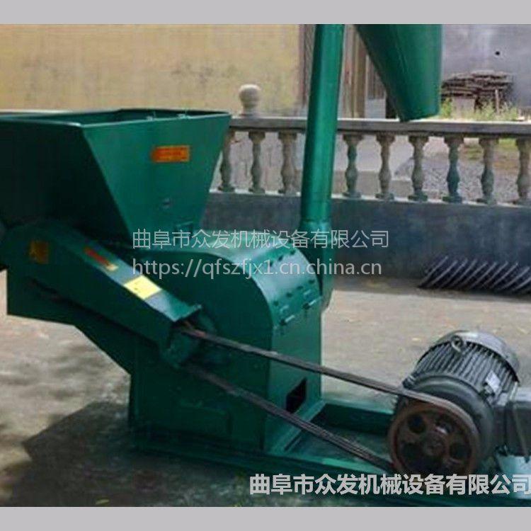 黑龙江供应大型玉米杆粉碎机 自动喂料草粉机图片