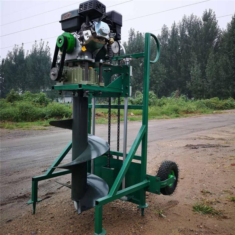 立柱汽油挖坑机价格 路灯埋杆立柱钻坑机 硬土质挖坑机价格