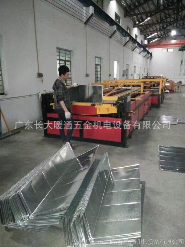 【长大暖通】厂家直销镀锌方管方形风管不锈钢通风排烟管道可定制