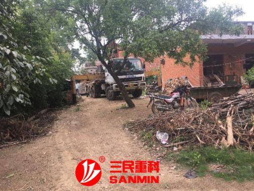 湖南三民重科小型天泵发力新农村市场