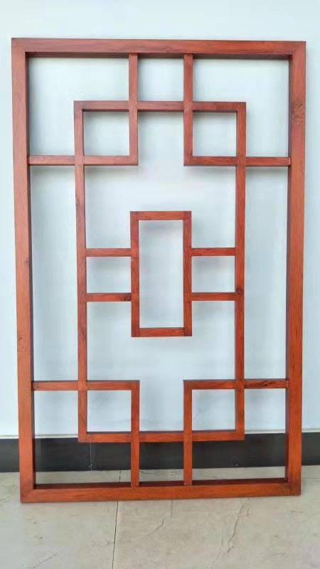木纹铝合金窗花 香港外墙装饰氟碳铝合金方管窗花