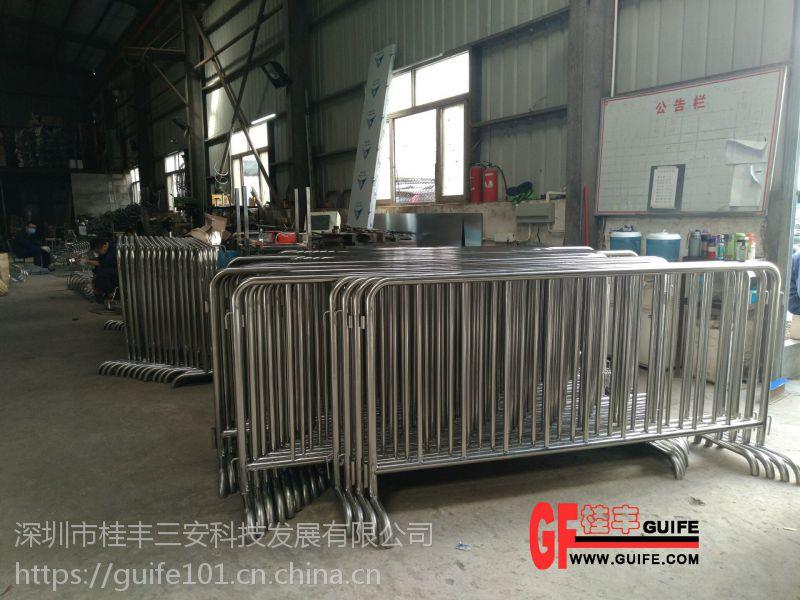 不锈钢铁马护栏规格都可定制吗