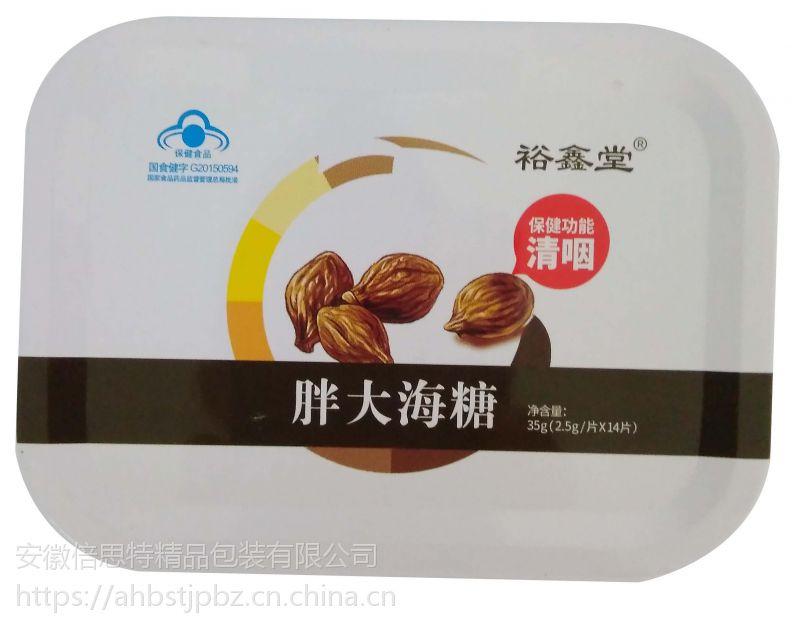供应含片糖铁盒 胖大海糖铁盒专业定制