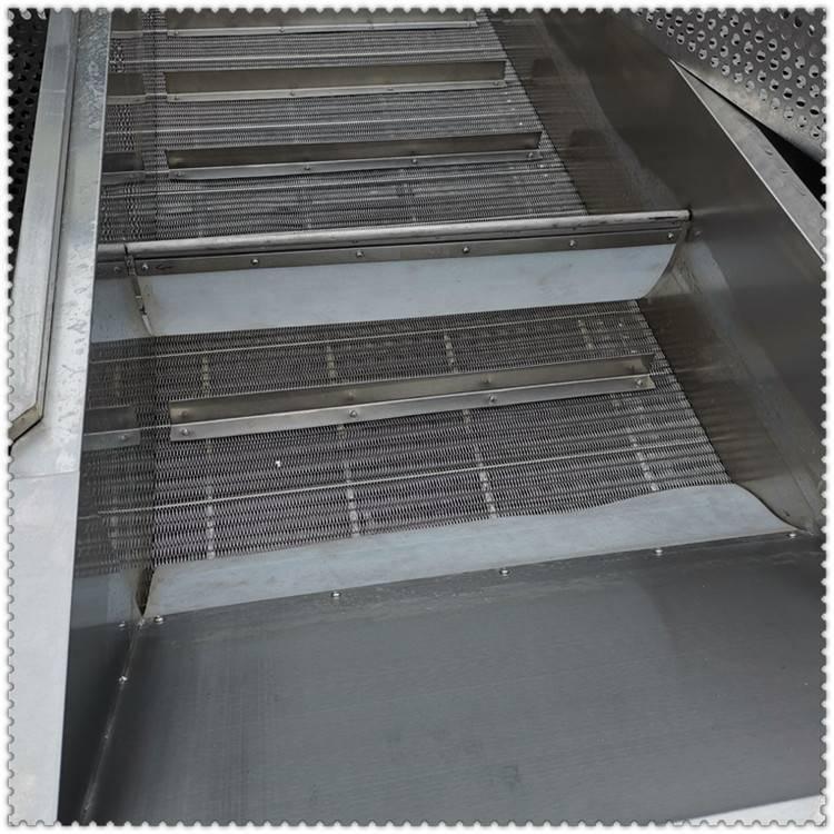 厂家直供全自动高效肉丸挂冰机 虾丸裹冰机 顺泽机械专供