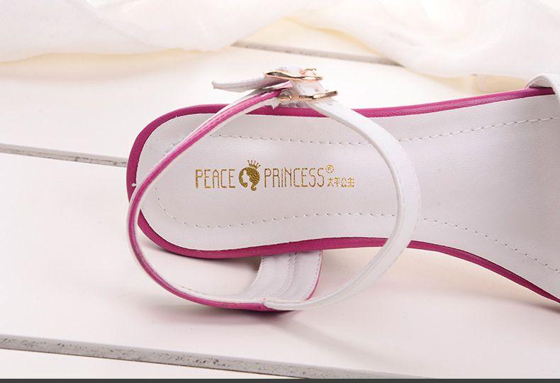 2015春夏新款时尚女鞋欧美坡跟中跟鱼嘴潮男韩版衬衫半袖图片