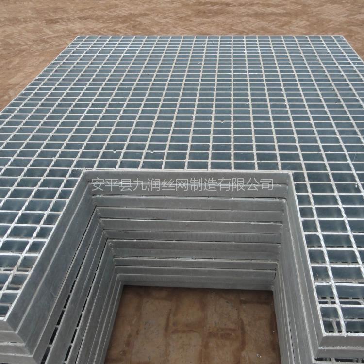 厂家供应钢格板沟盖板定制异形格栅板