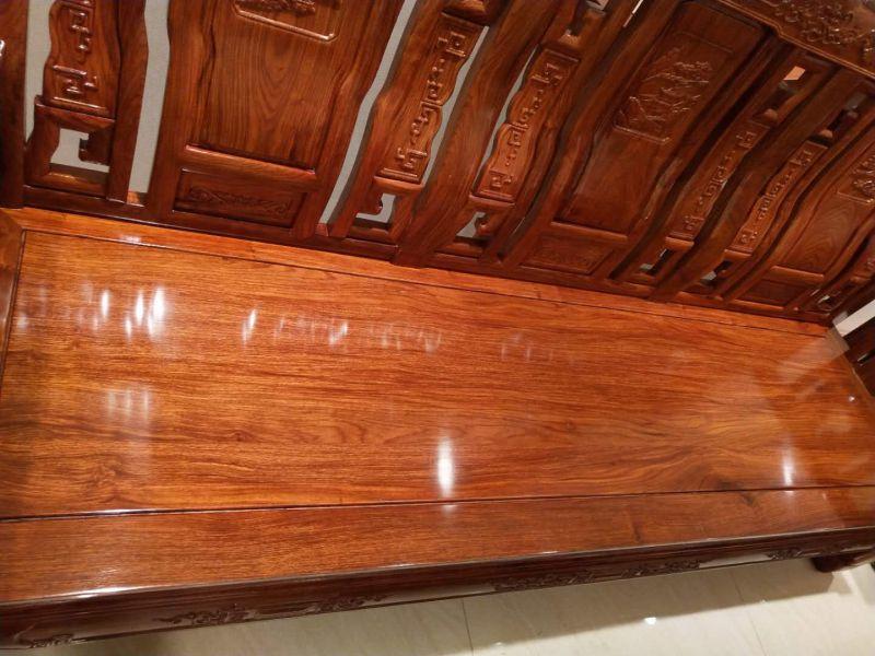 中山红木2018年3月15日展销会特价沙发刺猬紫檀沙发