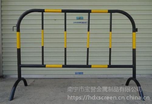 南宁交通铁马护栏,可移动防护栏,移动隔离栏