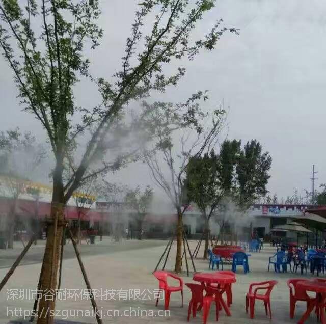 水池景观喷雾机 喷雾加湿除尘产品展示 案例(云浮 汕尾 潮州 台山 阳春 顺德)