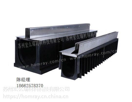 HDPE排水沟工厂 HDPE线性排水沟价格