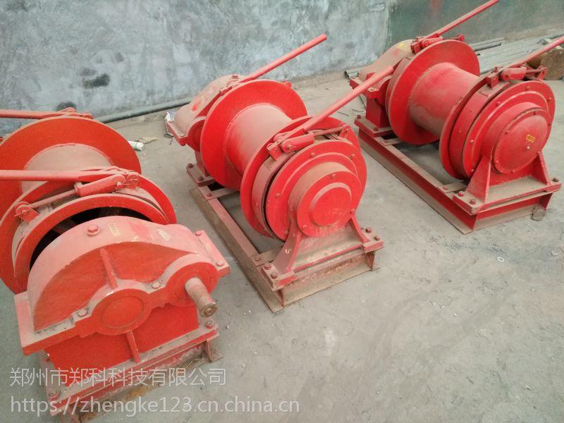 山东泰安郑科3吨手控桩机配用卷扬设备