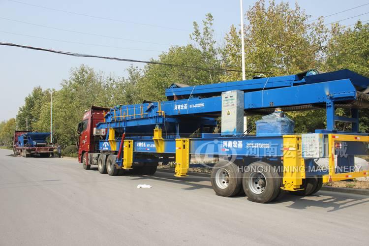 建筑垃圾处理设备,哪生产的时产100吨移动破碎站价格便宜