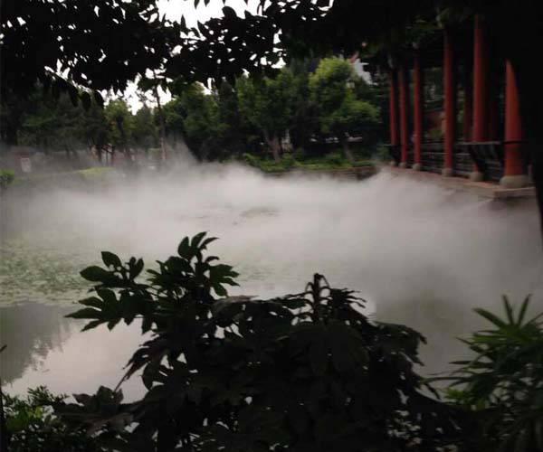 森林公园造雾系统 冷雾降温系统供货商 案例(鸡西|双鸭山|鹤岗|黑河|伊春)