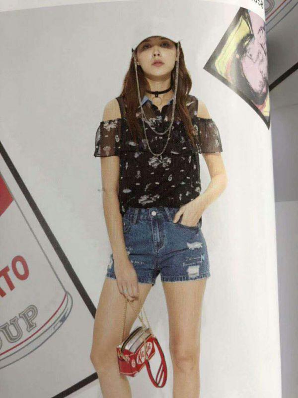 洛呗一品牌女装折扣批发 品牌折扣女装一手货源