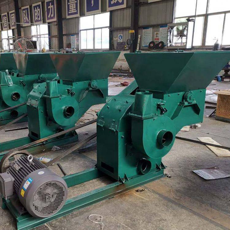 质量可靠性强粉碎机 大型作物饲料粉碎机 锤片式电动饲料机