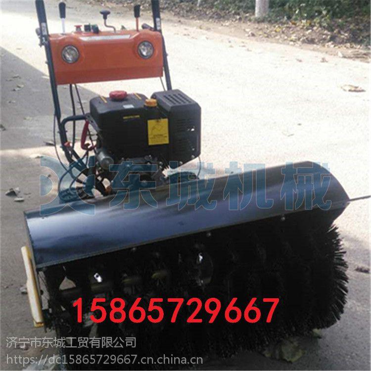 鸡东县市政道路扫雪机 物业小区除雪机 家用大棚远程抛雪机