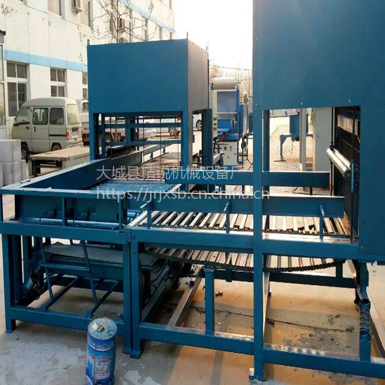 供应泡沫混凝土板切割精锐水泥发泡水泥板切割锯成套设备