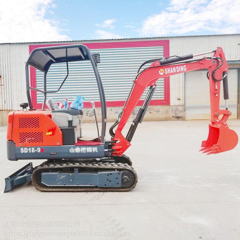 江苏小型勾机多少钱一台 小型工程挖掘机山鼎厂家