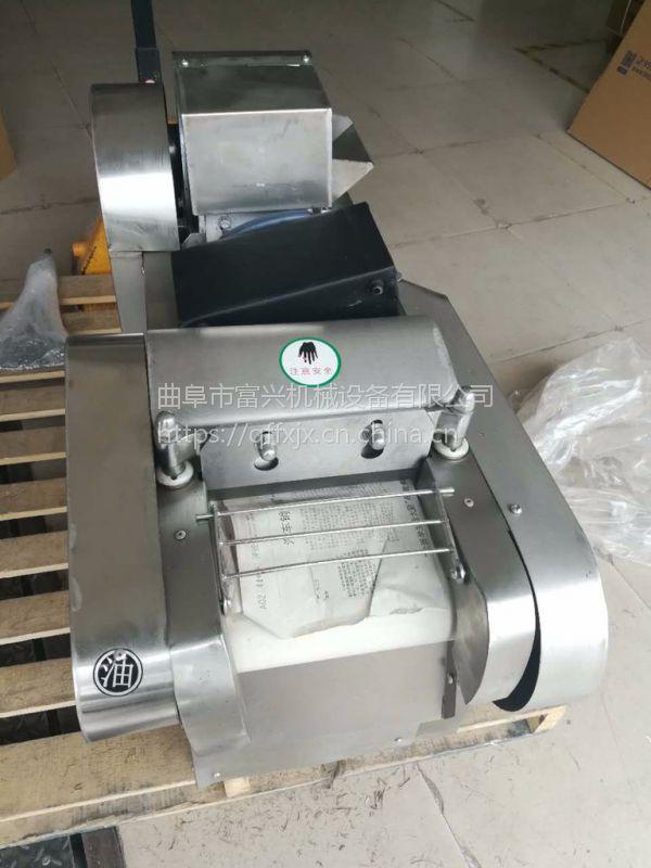 大肠鱼豆腐切块机 富兴火腿切片机 辣椒切丝机厂家