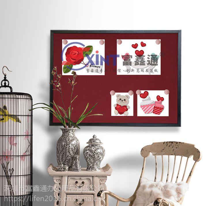 广州松木框软木板7河源照片墙背景墙7挂式留言板