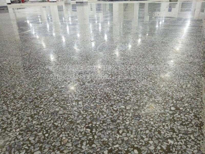 广州新塘水磨石抛光—增城厂房水磨石翻新处理—菲斯达成就你我