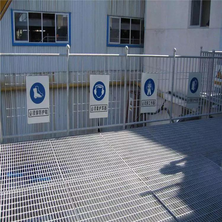 水沟盖钢格栅 操作平台踏步板 踏步板供货厂家