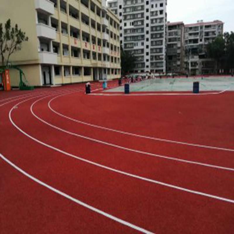 福建网球场塑胶跑道品质高 奥博足球场运动跑道批发