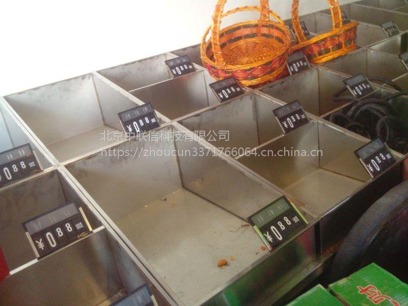 双层不锈钢果蔬架单层金属水果架子单面靠墙水果展示架厂家直销