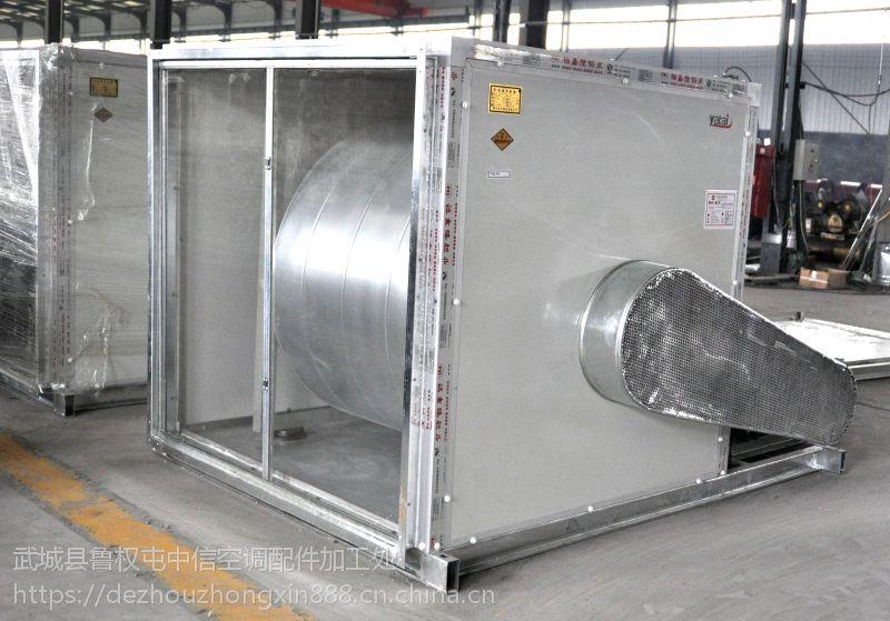 htfc箱式离心风机箱厨房排油烟管道通风机静音风柜柜式风机380V