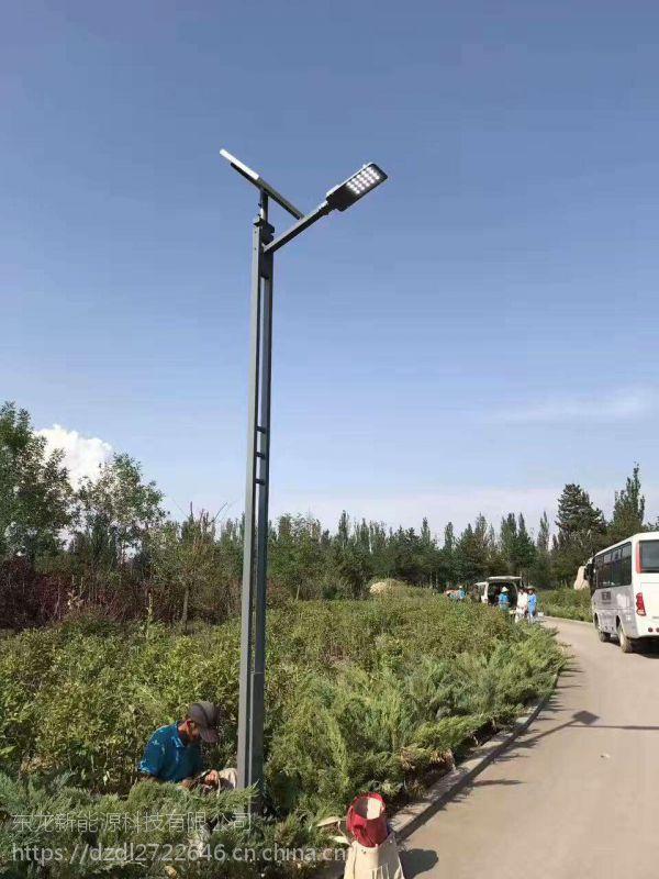 美丽乡村 LED6米30W太阳能照明路灯 户外一体化太阳能路灯厂家