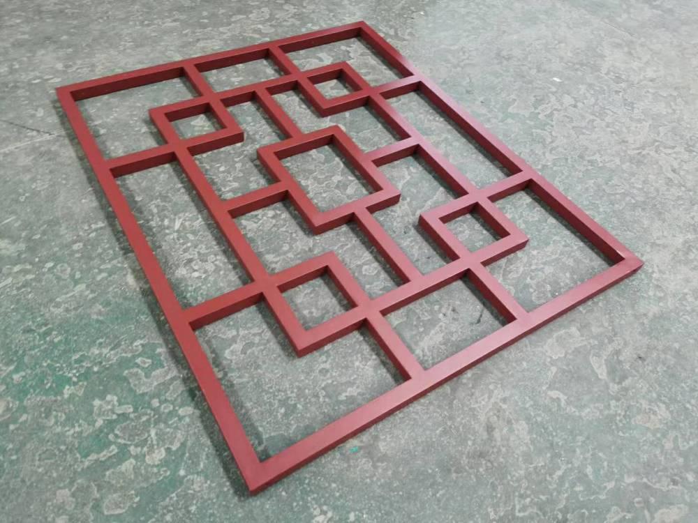 香港铝窗花 木纹铝窗花多少钱