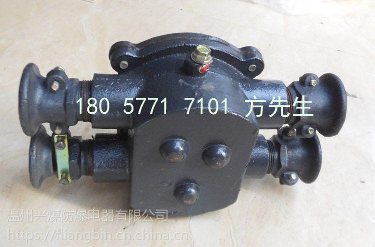BHD2-40/380-4T矿用隔爆型低压电缆接线盒