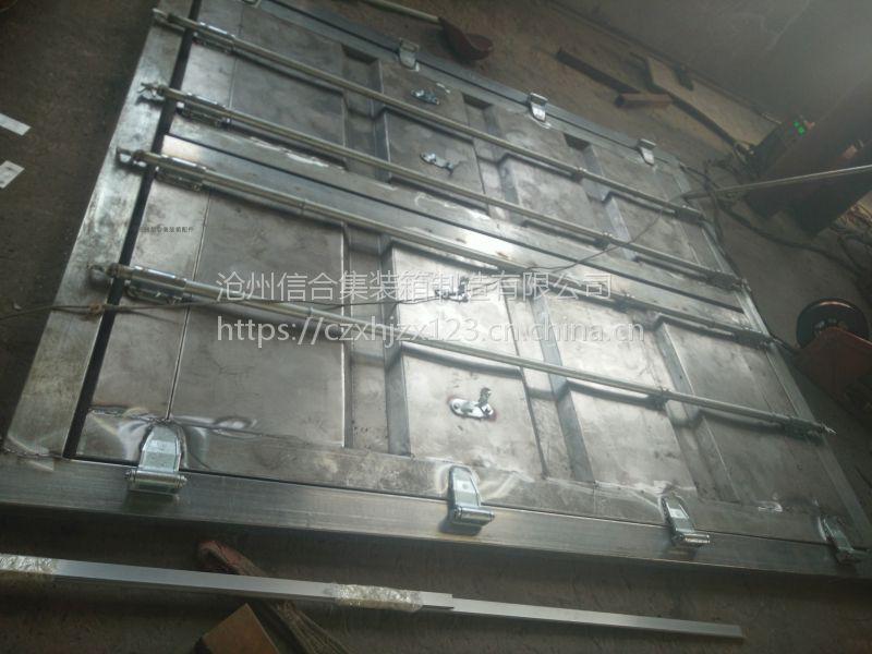 定制保温集装箱门 设备箱保温门 全套锁具 合页 密封条 配带齐全