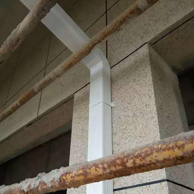 山东阳光房别墅天沟落水管成品落水槽排水系统
