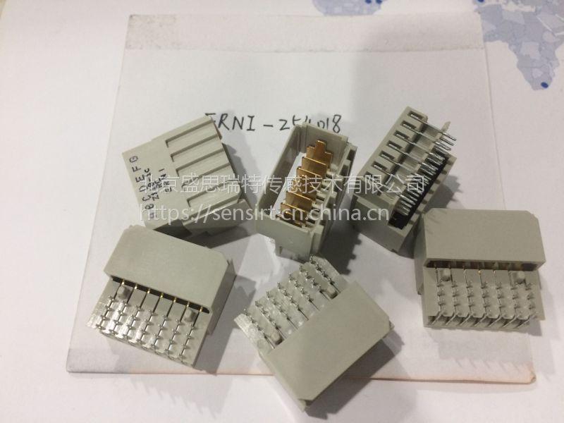 ERNI恩尼母弯式N型压接PCB连接器044581