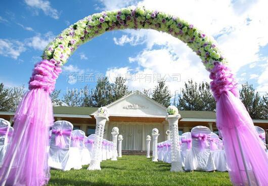 仿真人造草坪地毯幼儿园草坪婚礼展览运动草坪