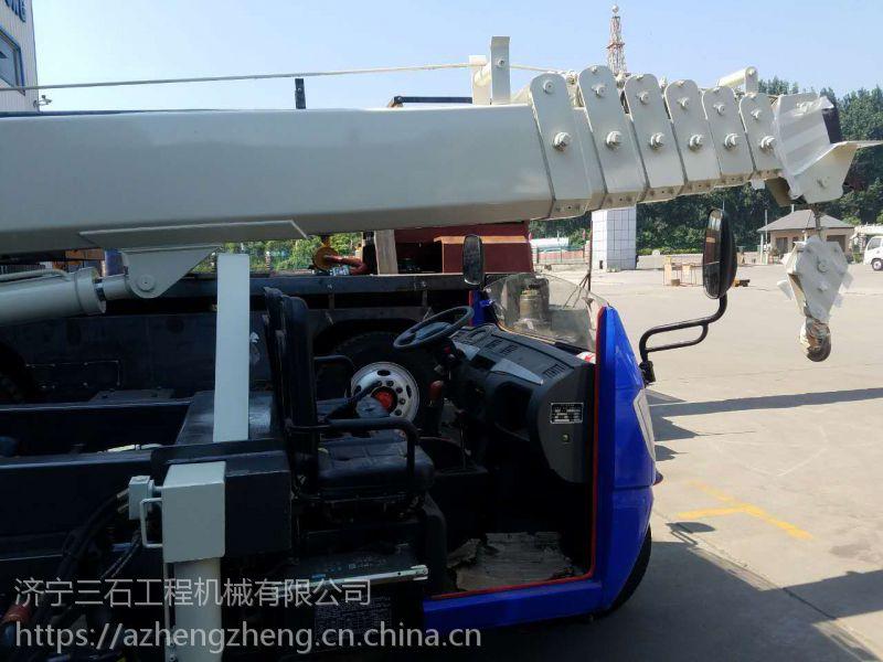 青海西宁吊车好出租的小型三轮吊 油电两用的三轮随车吊 吊重3吨的小型吊车