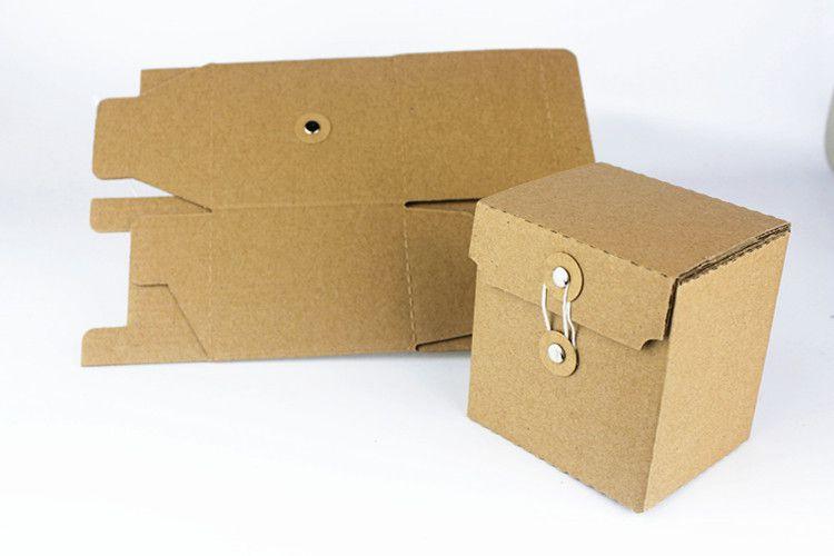 定制纸盒干货蜂蜜茶叶500g六角玻璃瓶 牛皮纸包装礼盒 手工皂盒图片