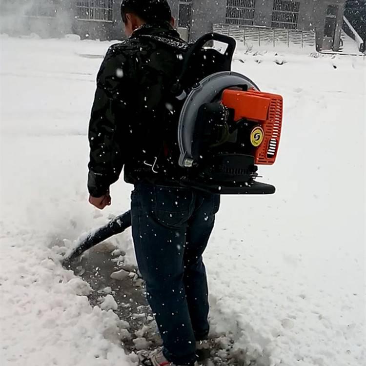 大马力手推扫雪机 汽油除雪机 大棚吹雪机