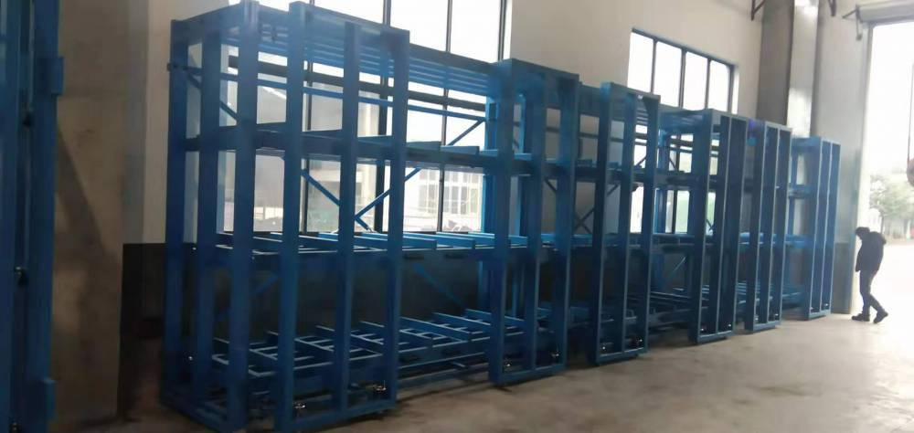 长沙合金板材仓库货架 ZY030807 可百分百拉出抽屉式货架设计