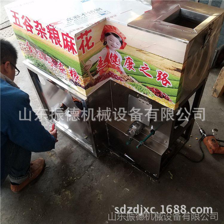 面粉玉米组合膨化机 自成熟型大米膨化机 康乐果糖酥机 振德直销