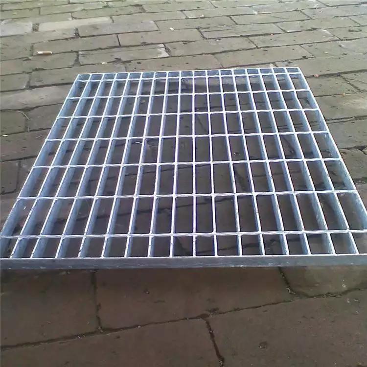 钢格栅踏步板 停车场钢格栅厂家 钢格栅盖板图集