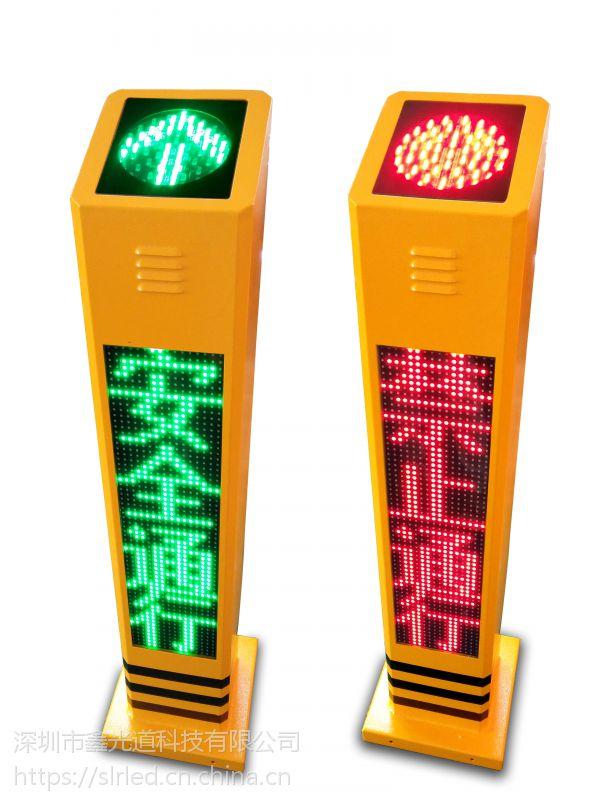 厂家直销行人过街语音提示柱 红绿灯交通安全语音提示桩