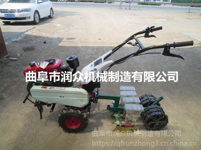 耐用大棚蔬菜播种机 润众 拖拉机牵引播种机