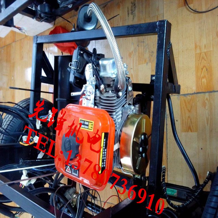 3kw60v电动车发电机增程器